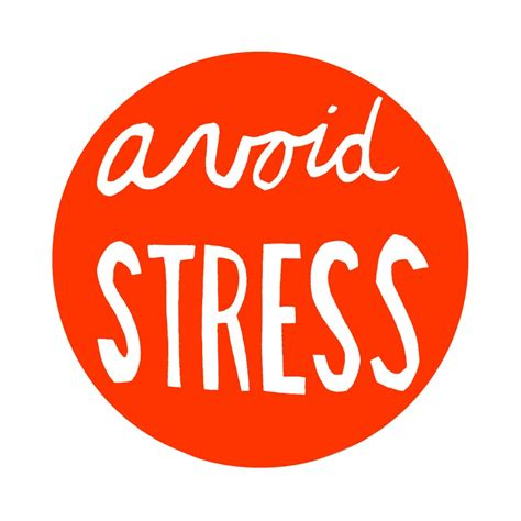 to avoid the s four a s strategy for stress management health How
