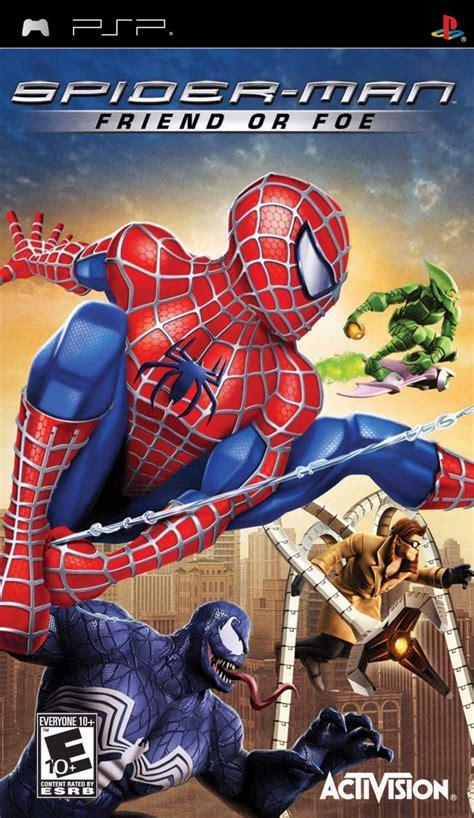 spider man friend  foe playstation portable ign