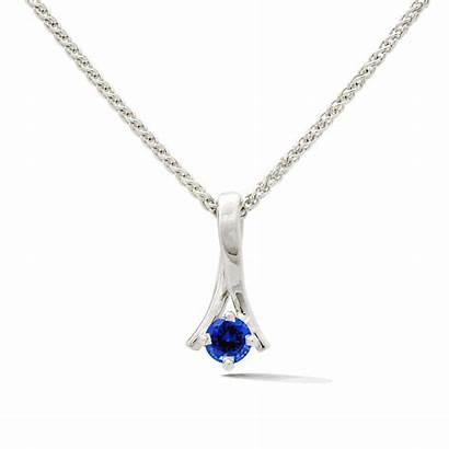 Necklace Single Birthstone Gem Jewelry Saratoga Springs