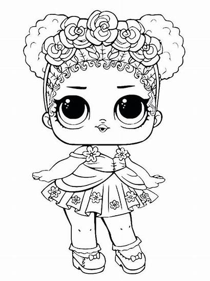 Coloring Pages Alive Doll Unicorn Dolls Lol