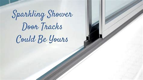 best way to clean shower cubicle best way to clean shower door tracks shower cleaning