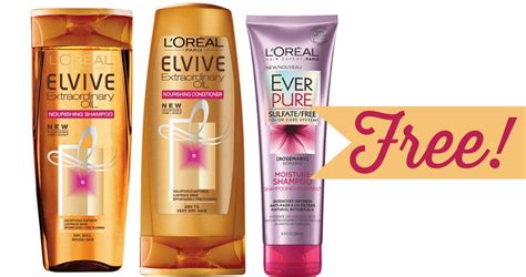 L'oreal Hair Care For Free!