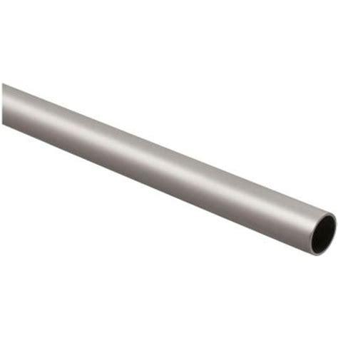 stanley national hardware 6 ft closet rod in satin nickel