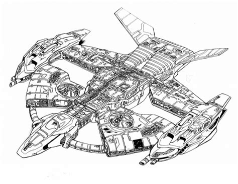 Star Wars Lego Battleship Free Coloring Page Adults