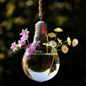 DIY decoration from bulbs – 120 craft ideas for old light