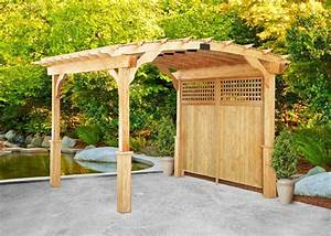 Bild Pergola Aus Holz Im Hinterhof Haus Aabbeatv