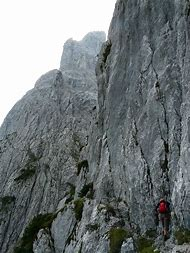 Extreme Rock Climbing Mountain