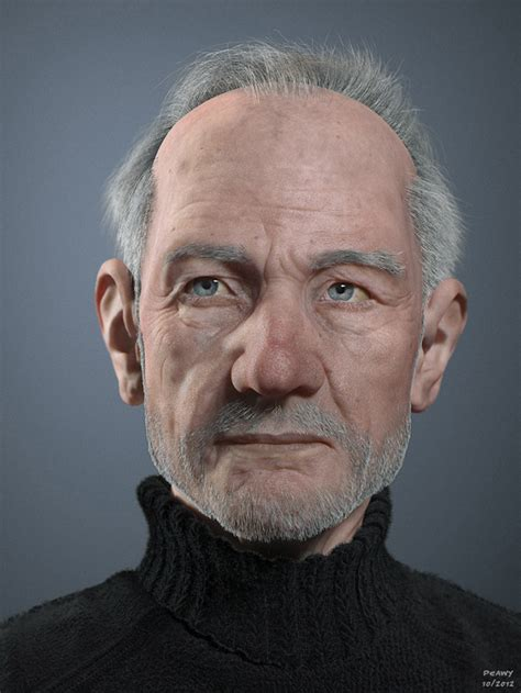 Making Of 'old Man' By Frederic Scarramazza (page 1 Of