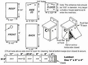 Woodwork Wren And Chickadee Bird House Plans PDF Plans
