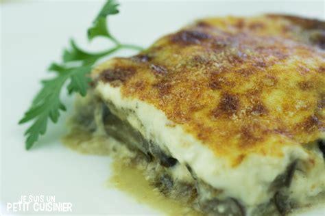recette de gratin d aubergines recette facile
