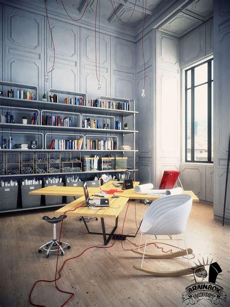 creative office space layout spaces that inspire solitude contemplation and creative work Creative Office Space Layout