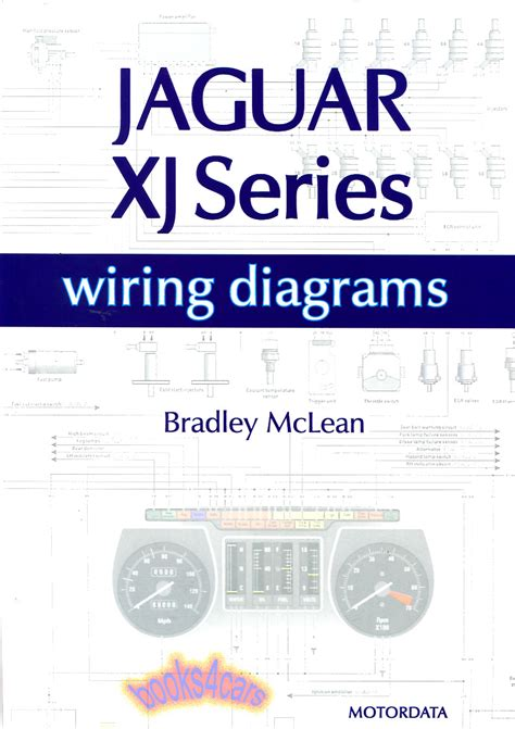 jaguar electrical wiring diagrams xjs xj6 xj12 schematics book mclean v12 ebay