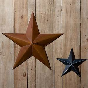 Rustic metal star sturbridge yankee work