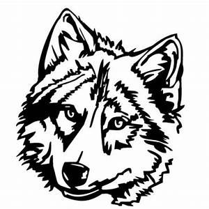 Wolf Head Clip Art - Cliparts.co