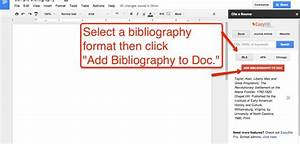 how to create a bibliography in google documents library With google documents library