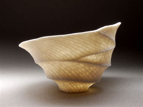 small ethereal porcelain forms sandra byers american craft council