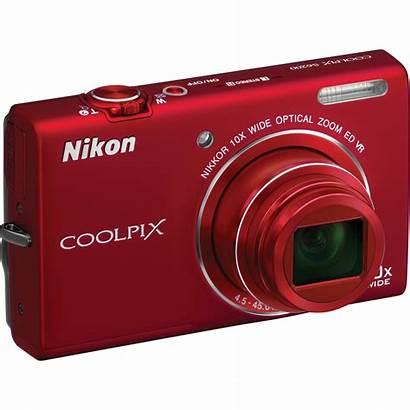 Nikon Camera Coolpix S6200 Digital 10x Ccd