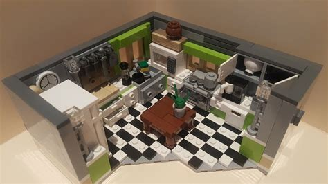 LEGO Ideas   Model Lego Kitchen