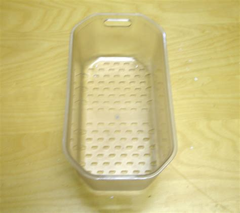 Kitchen Drainer Basket by Kitchen Sink Drainer Basket Clear Plastic Ebay