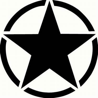Army Star Decal Clipart Military Vector Sticker