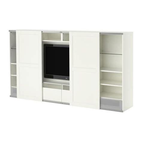 Ikea Tv Möbel Weiss by Best 197 Inreda Tv Aufbkomb Mit Schiebet 252 Ren Wei 223 Ikea