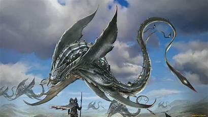 Fantasy Creature Creatures Weird Concept Wallpapers Backgrounds