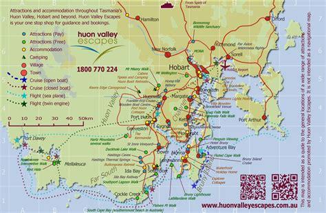 map  tasmania australia hobart printable amanda palmer
