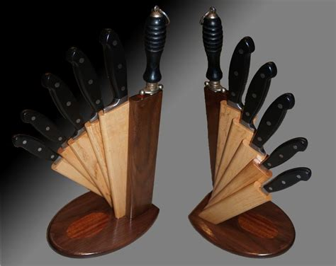 wooden knife block plans woodworking projects plans