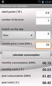 Stromkosten Gerät Berechnen : stromkosten rechner android apps auf google play ~ Themetempest.com Abrechnung