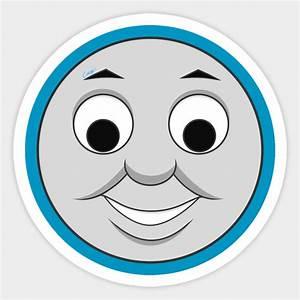 thomas happy face tv ver thomas tank engine sticker With thomas the tank engine face template