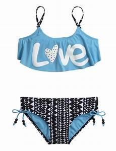 Love Flounce Bikini Swimsuit   Girls Bikinis Swimsuits ...