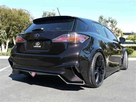 lexus ct200h mods lexus tuning widebody ct 200h project ct by five axis