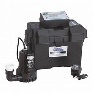 Buy The Basement Watchdog Special Backup Sump Pump 2500 Gph