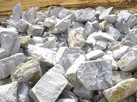 Weiße Steine Für Garten bruchsteine