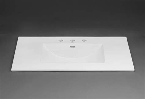 37 vanity top with integrated sink ronbow 212237 1 wh white 37 quot ceramic vanity top with