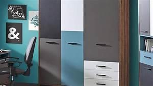 Kleiderschrank Weiß Grau : kleiderschrank raven schlammeiche wei schwarz gr n grau ~ Buech-reservation.com Haus und Dekorationen