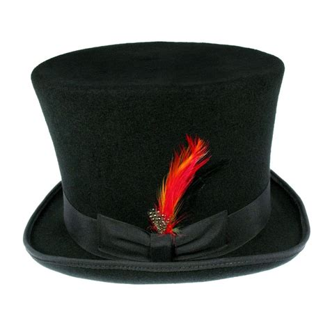 b2b jaxon victorian top hat black top hats