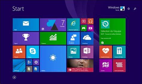 bureau windows 7 sur windows 8 1 windows 10 retrouver l 39 écran d 39 accueil de windows 8
