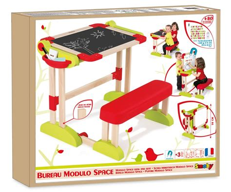 smoby bureau modulo space modulo space desk desks arts crafts products
