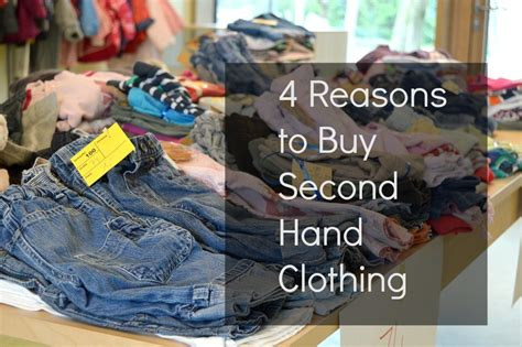 4 Reasons To Buy Second Hand Clothing  Trimester Fashion