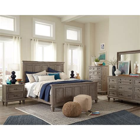 Rustic Gray Bedroom Sets by Casual Rustic Gray 4 King Bedroom Set Dovetail