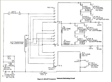 Dbx Crossover Wiring Diagram by Ar Lst Crossover Differences Acoustic Research The