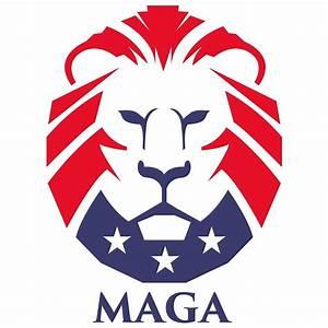 """MAGA trump logo"" by wrathofbong420 Redbubble"
