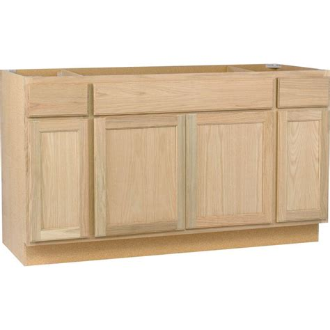 clearance kitchen cabinets or units hton bay hton assembled 60x34 5x24 in sink base