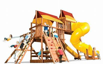 Playhouse Playground Clipart Equipment Outside Xl Transparent