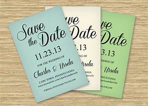 freebie friday save the date printable postcard With downloadable save the date templates free