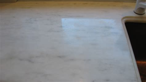 white marble countertop damage repolishing ma specialized floor care services