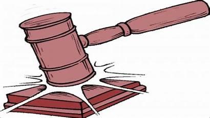 Gavel Clipart Court Judges Verdict Supreme Land