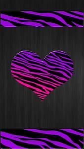 .purple pink tiger print iphone wallpaper cell phone ...