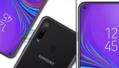 samsung galaxy a8s specs leaked has display for front camera